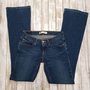 Levi's Too Superlow Flare Jeans.